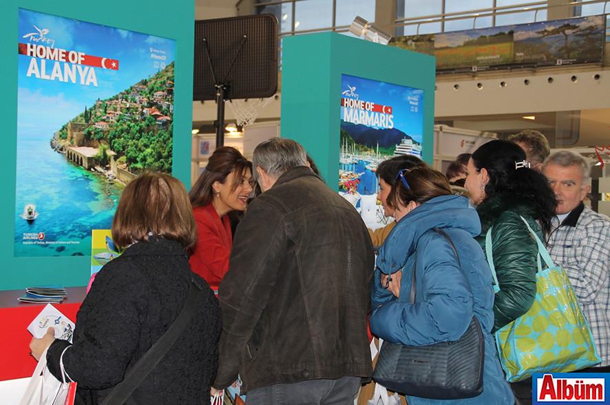 Tanıtımda Alanya Farkı ( Uluslararası Belgrad Turizm Fuarı)10