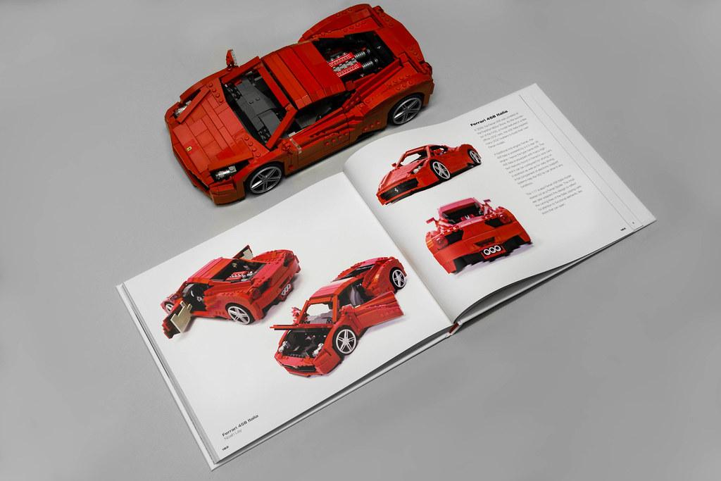 Ferrari 458 Italia In Art Of Lego Scale Modeling I Was Hon Flickr