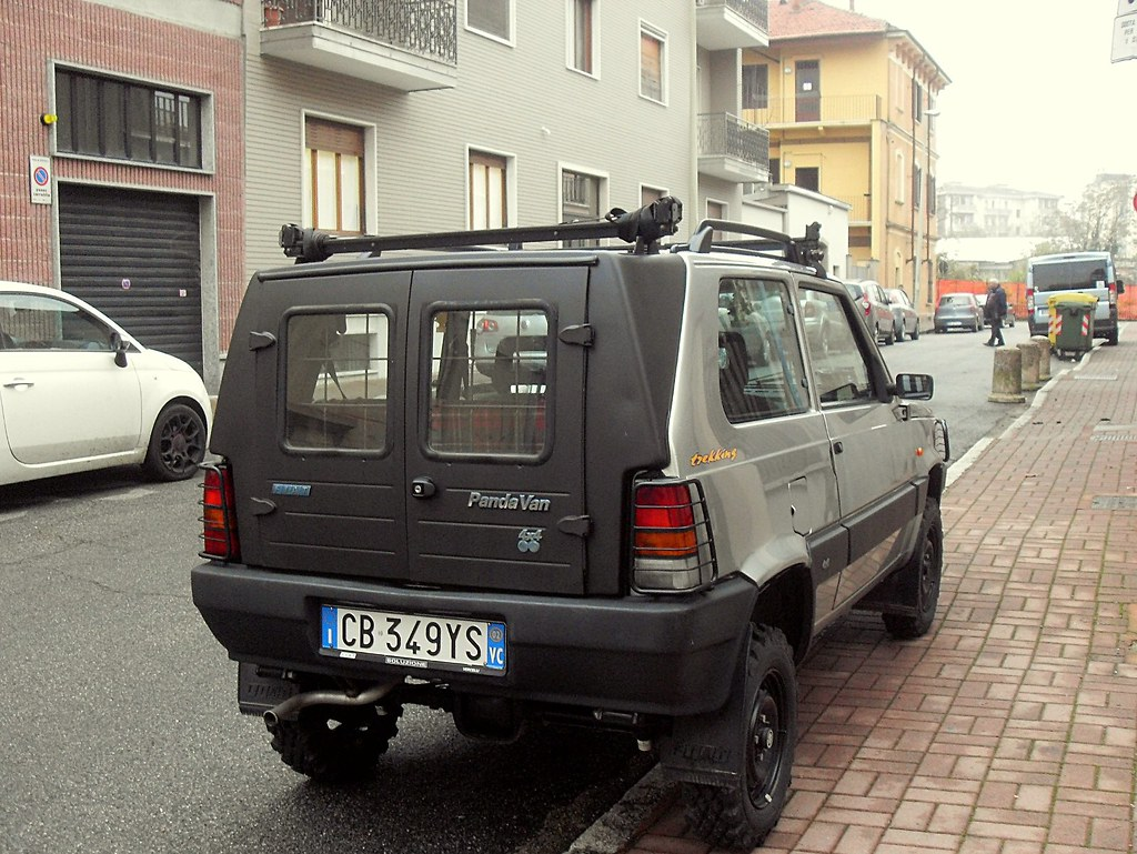 fiat panda van 1 1 i e 4x4 trekking 2002 lorenzossc flickr. Black Bedroom Furniture Sets. Home Design Ideas