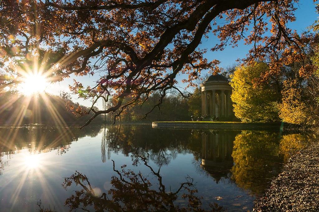 Nymphenburger Schlosspark, Apollotempel