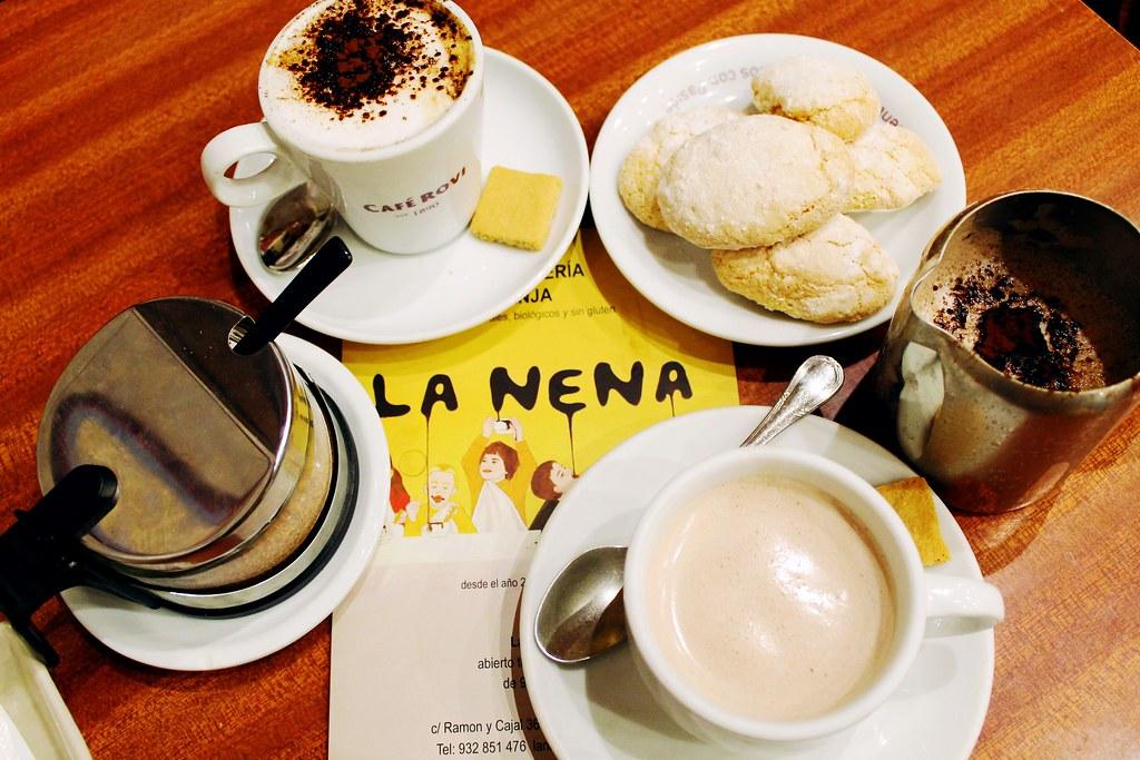 Guia de onde e o que comer em Barcelona - Chocolateria La Nena