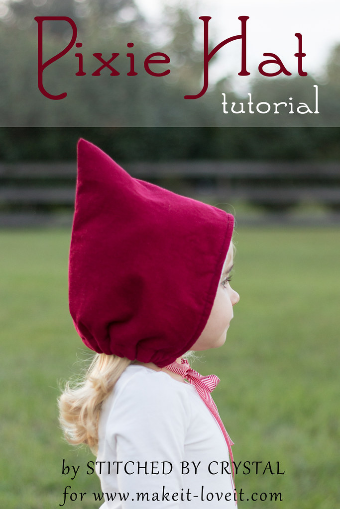 Stitched By Crystal Pixie Hat Tutorial