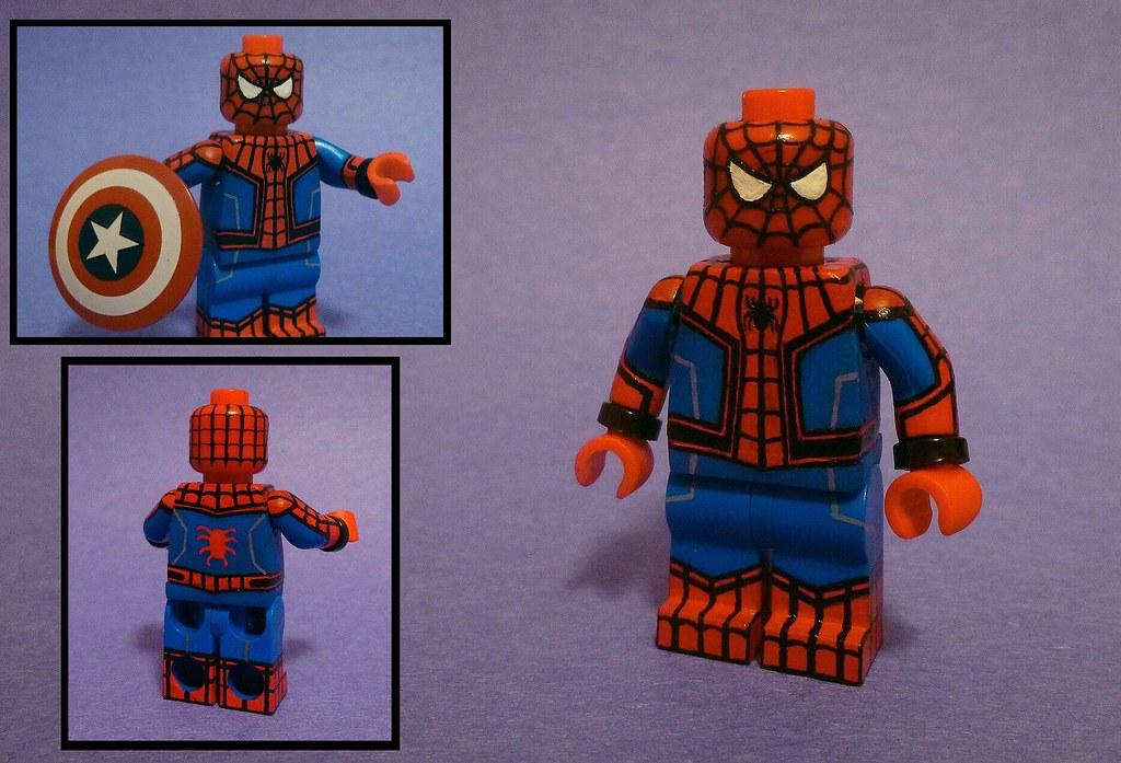 Custom Lego Civil War Homecoming Spider Man So To Kick