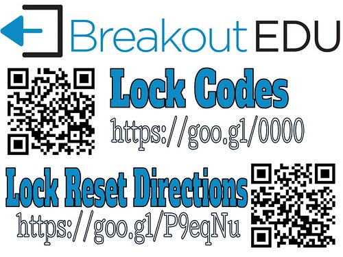Breakout EDU Current Lock Combos and Reset Instructions | by Mr.ChrisAtkinson