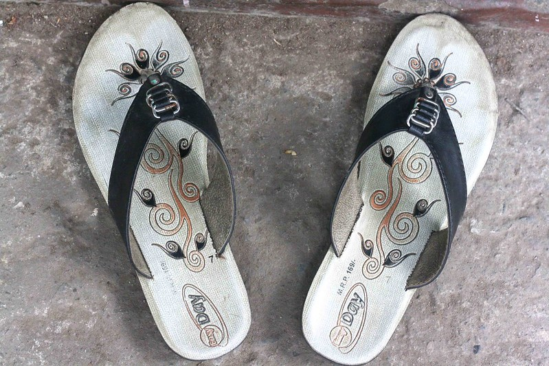 Photo Essay - Sandal Vs Chappal, Delhi High Court & Elsewhere