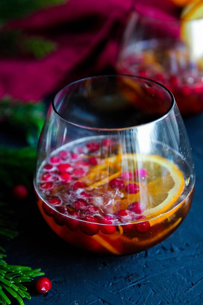 cocktail de no l aux airelles et l 39 orange aime mange. Black Bedroom Furniture Sets. Home Design Ideas
