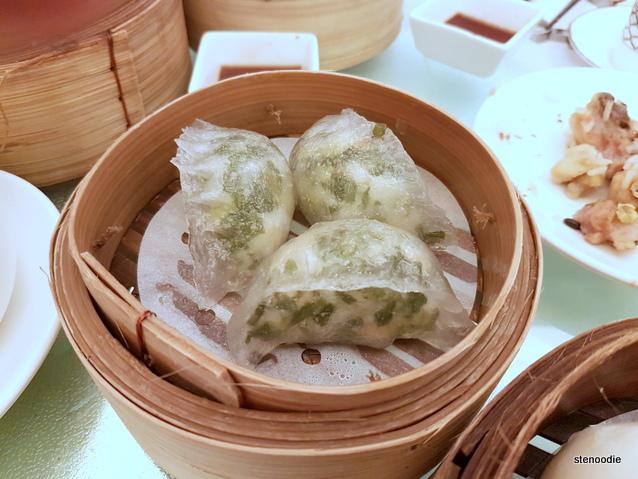 Shrimp and veggie dumplings