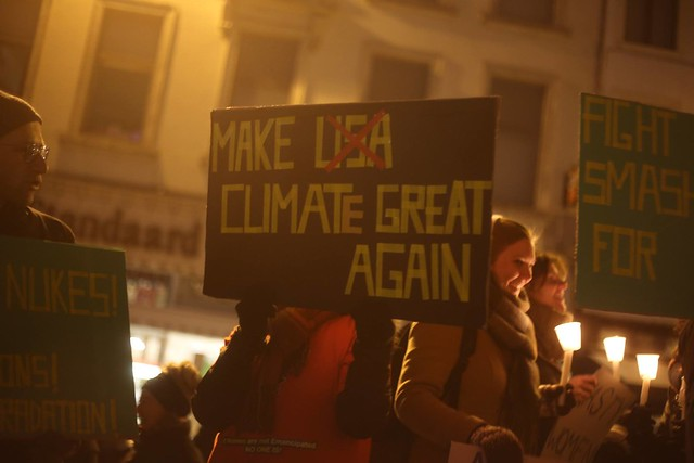 Resist Trump à Bxl || Photos de PPICS