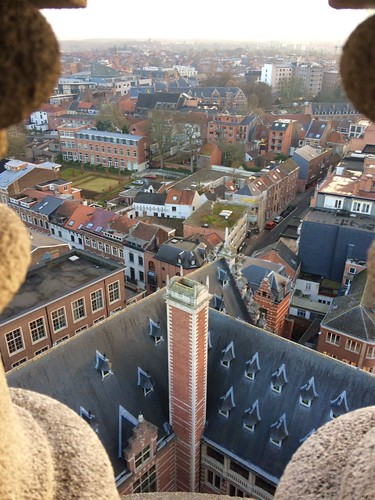 View from the Library of the Catholic University of Leuven