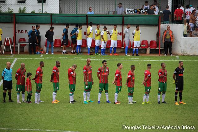 Portuguesa Santista 2 x 2 Nacional