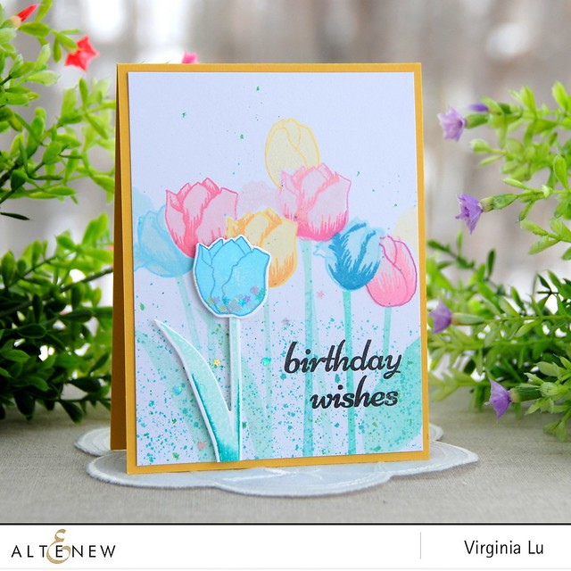 Altenew Tulip Card