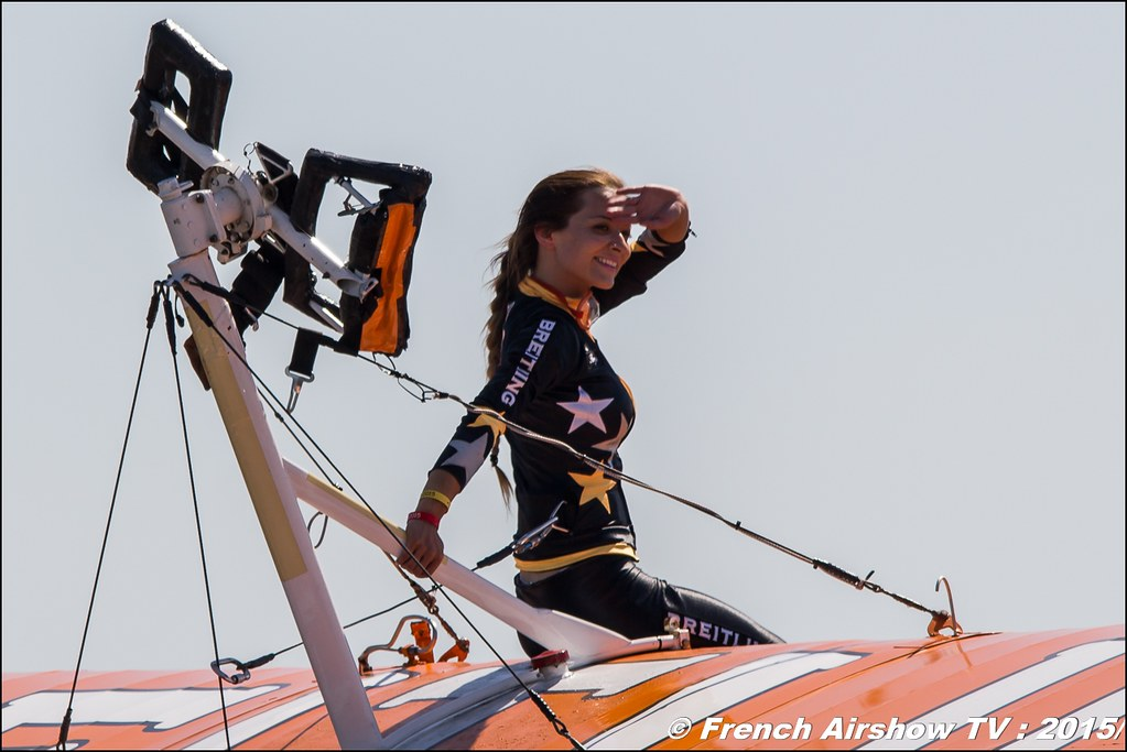 Breitling Wingwalkers , aerosuperbatics , wing walking uk, 28th FAI World Aerobatic Championships 2015 , WAC 2015 - France , Championnats de Monde de Voltige aérienne 2015, Meeting Aerien 2015