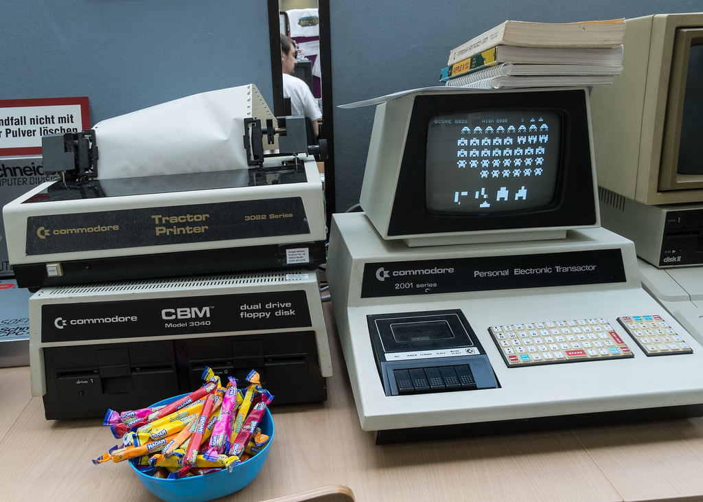 Commodore Pet 2001, 3022 printer and 3040 dual drive flopp… | Flickr