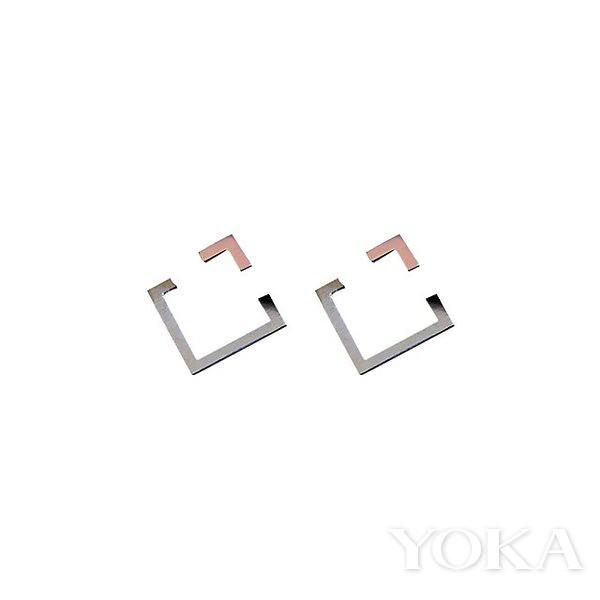 Mari Tome COER1-ss Silver earrings, $100