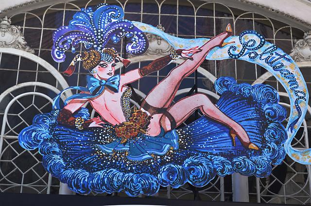 Burlesque theatre, Lisbon, Portugal