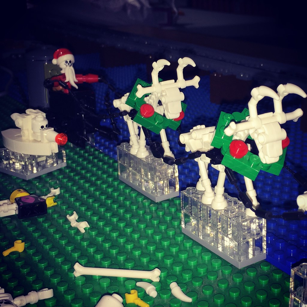 Lego Nightmare before Christmas invades #brickmania #gmltc… | Flickr