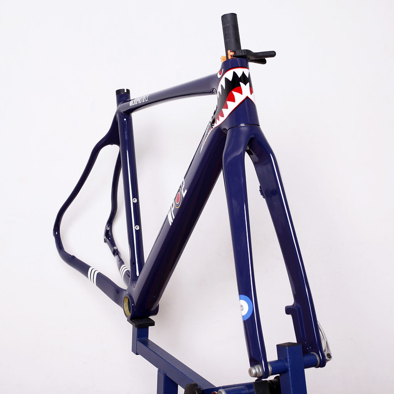 Boardman Bikes / CX Carbon Frame Set Repainted by Swamp Things