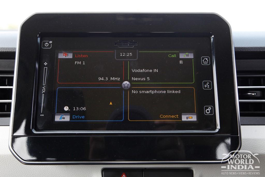 Maruti-Suzuki-Ignis-Interior-Infotainment-System