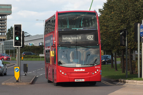 Metroline West TE1722 SN09CEJ