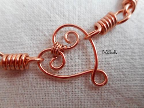 braccialetto cuore singolo 2 copia