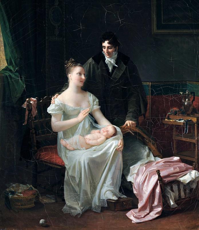 Marguerite Gérard - Motherhood