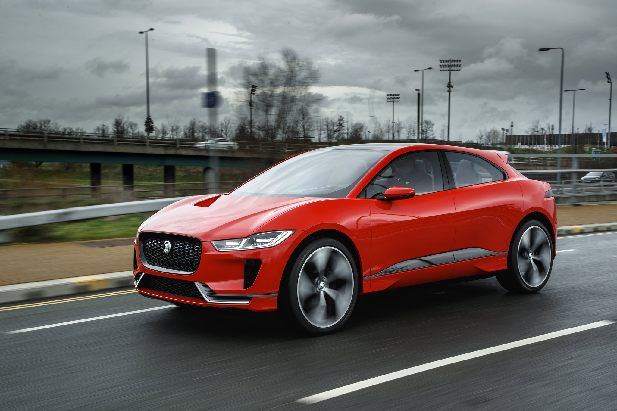 Jaguar I-PACE Concept driven on the streets of London for the first time
