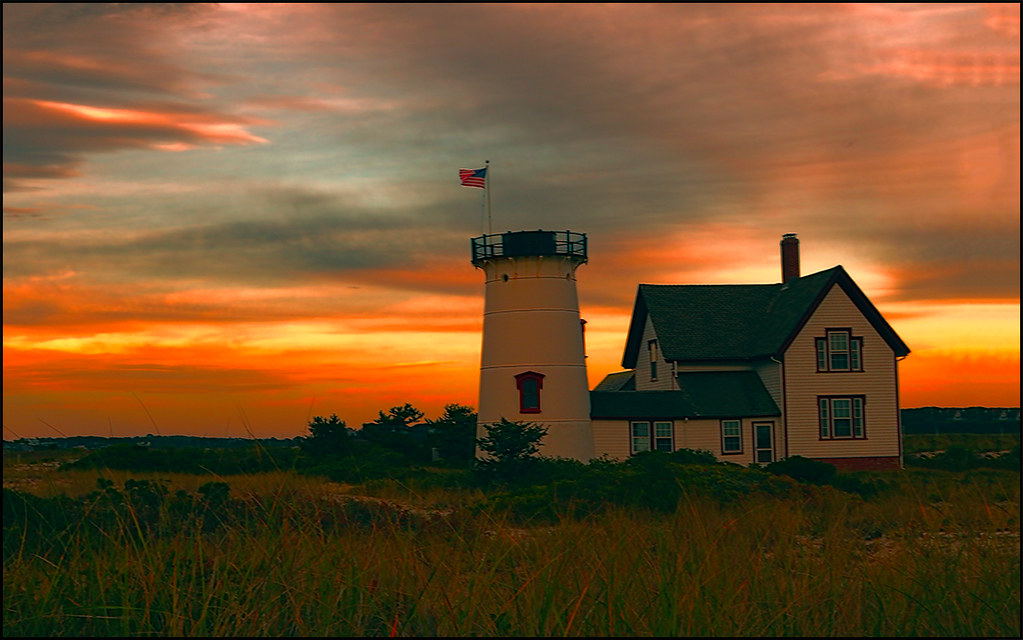 Stage Harbor Lighthouse | Chatham, MA Cape Cod ...
