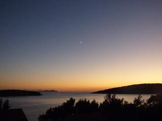 Autunno, tramonto a Potirnia