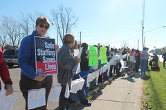 CWAers Stand for Safe Staffing