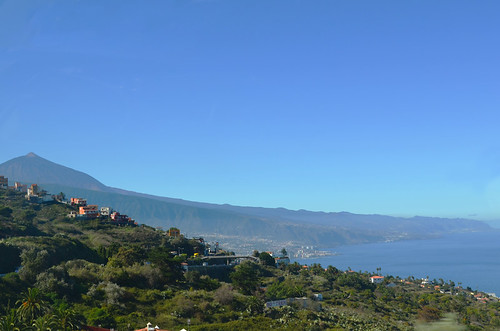 November Mount Teide and north coast of Tenerife