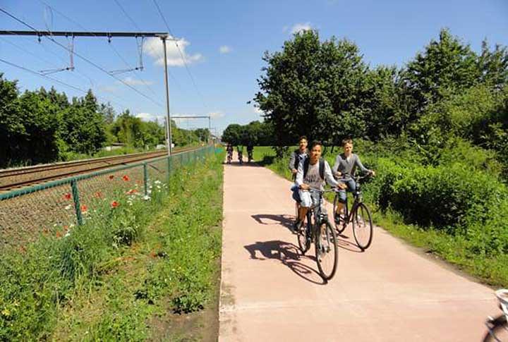 Fietstoerisme in en rond de stad Mechelen