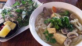 Vegan Pho at Fina's 2