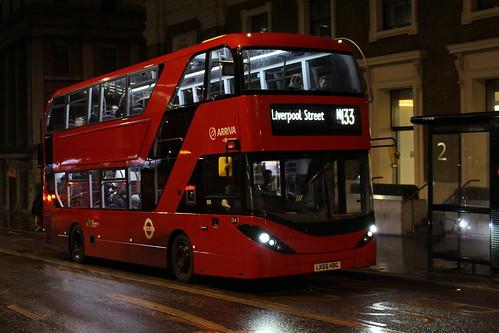 Arriva London HA39 on Route N133, London Bridge