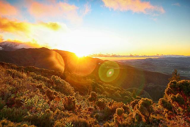 Azorean sunset