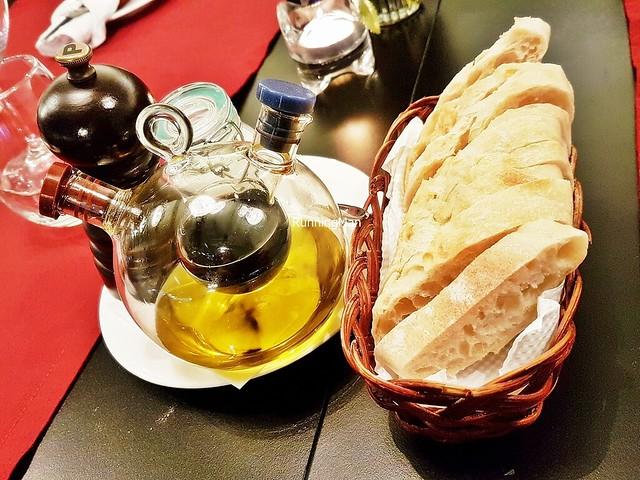 Bread Baguette, Balsamic Vinegar, Olive Oil