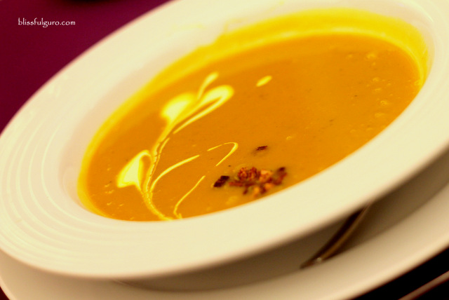 Thunderbird Resort La Union Olives Restaurant Pumpkin Soup