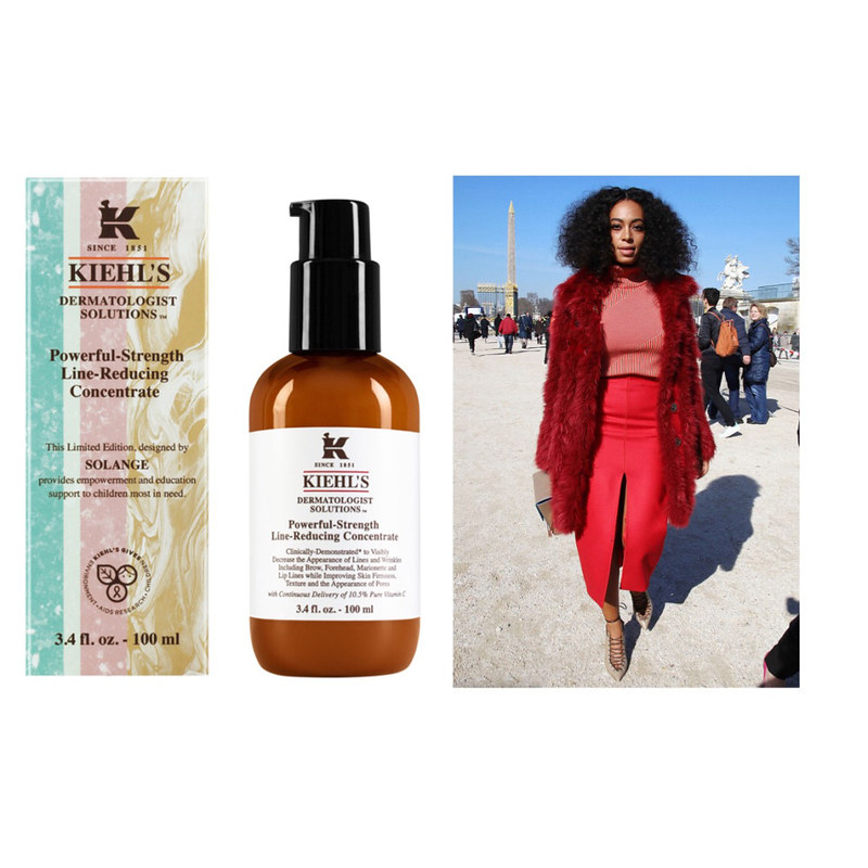 Solange Kiehl's iconic Powerful-Strength Line-Reducing Concentrate
