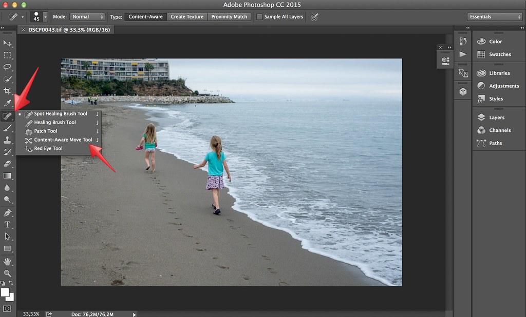 Подбор, замена и смешивание цветов в Photoshop