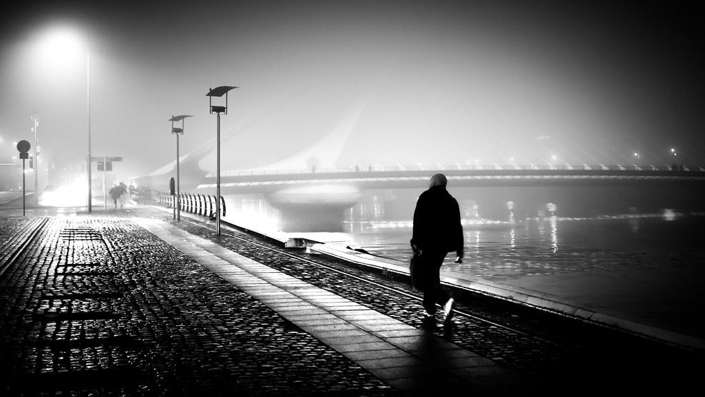 The photographer dublin ireland black and white street photography by giuseppe milo