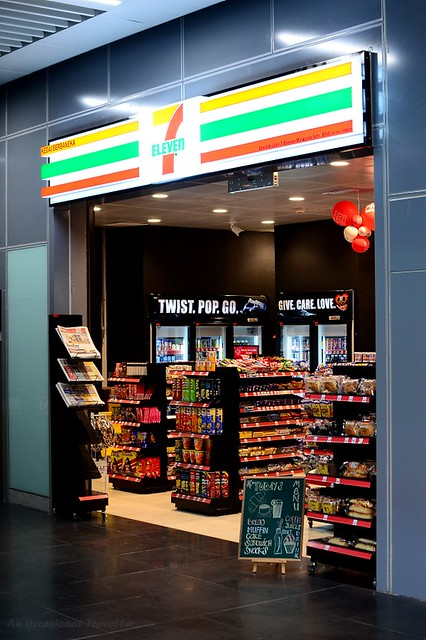 7-11 is one of the retail outlets at the MRT stations