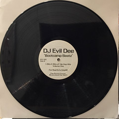 DJ EVIL DEE:BOOTCAMP BEATZ(RECORD SIDE-B)
