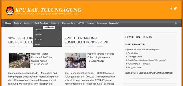 MASYARAKAT MULAI BURU INFORMASI HASIL PEMILU, WEBSITE KPU JADI ANDALAN