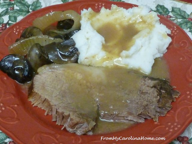Slow Cooker Pot Roast ~ From My Carolina Home