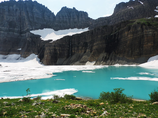 Grinnell Glacier, Glacier National Park, Montana, USA