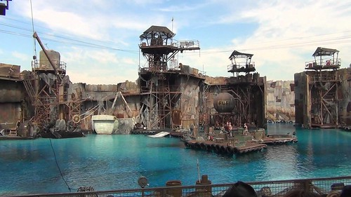 Waterworld - backstage 1