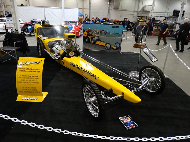Al Bergler's 1964 Detroit Autorama More Aggravation Dragster