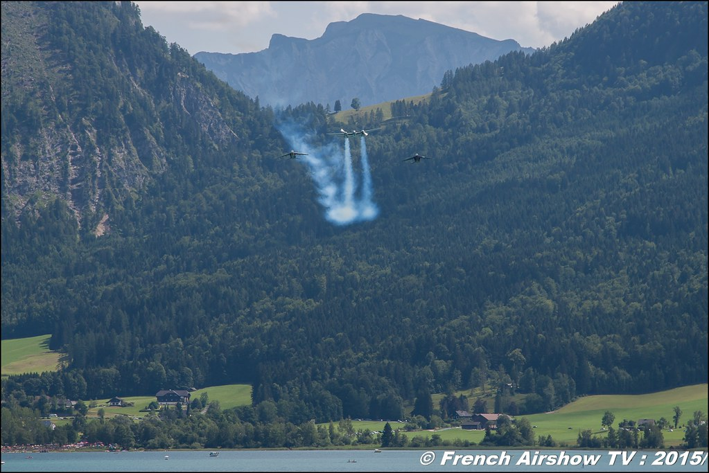 The Flying Bulls , Flying Bulls. Historical aircraft , Alphajet , P-38 , B-25 , Austria ,Sankt Wolfgang / St Wolfgang : Austria , scalaria air challenge 2015, Meeting Aerien 2015