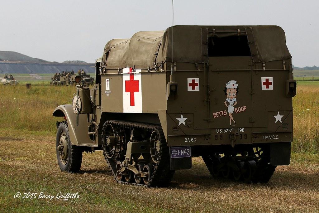 US Army M3 Half-track armoured ambulance (Betty Boop) | Flickr