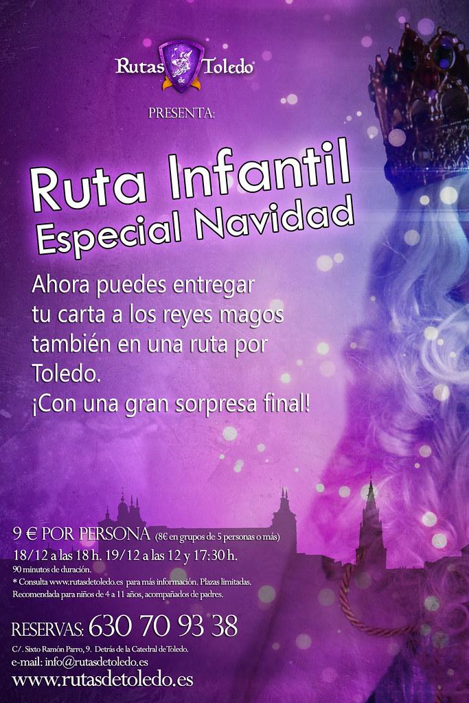 Ruta especial infantil Navidad Toledo