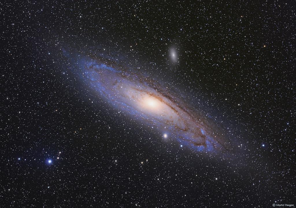 andromeda galaxy planets - HD2000×1367